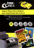 PAPIER PHOTO ultra brillant FRANCETONER PAFTA3_BRI230