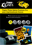 PAPIER PHOTO Premium SATIN FRANCETONER PAFTA4_SATIN_20F