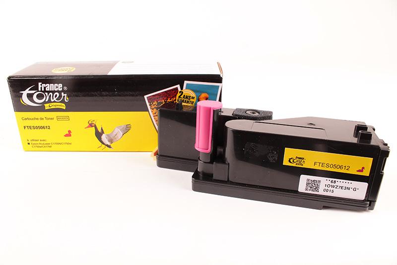 toner laser epson aculaser c1700 toner pour imprimante epson francetoner. Black Bedroom Furniture Sets. Home Design Ideas