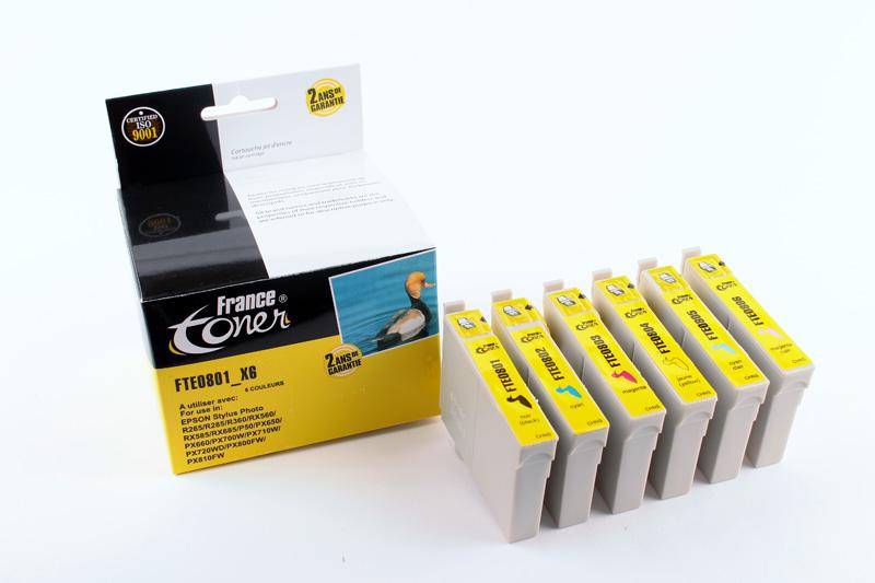 cartouche encre epson stylus px650 cartouches encre pour imprimante epson francetoner. Black Bedroom Furniture Sets. Home Design Ideas