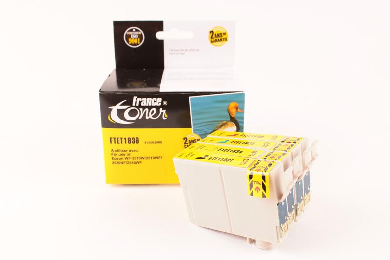 cartouche encre epson wf2510 cartouches encre pour imprimante epson francetoner. Black Bedroom Furniture Sets. Home Design Ideas