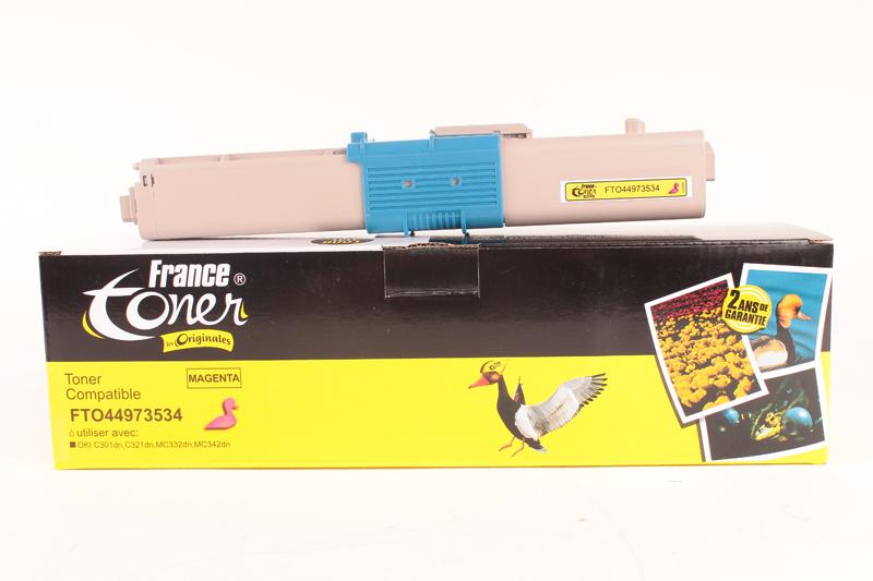 toner laser oki mc342dn toner pour imprimante oki francetoner. Black Bedroom Furniture Sets. Home Design Ideas